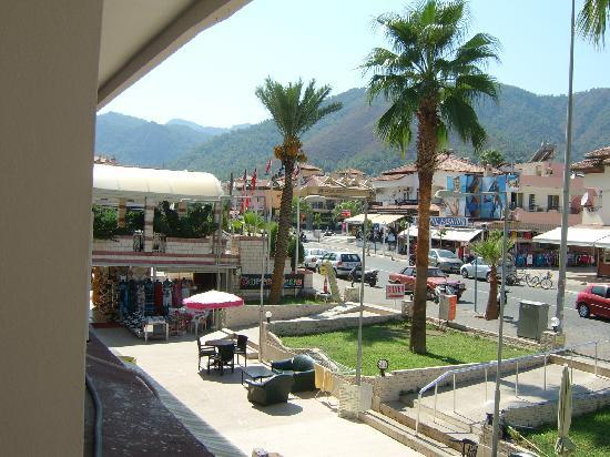 Kapmar Hotel: View from balcony near pool