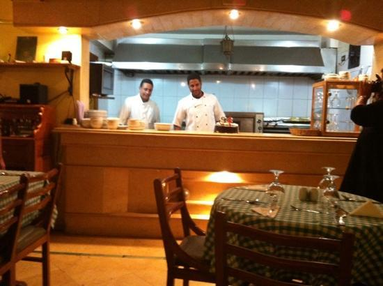 Deans Bistro : the kitchen at Deans