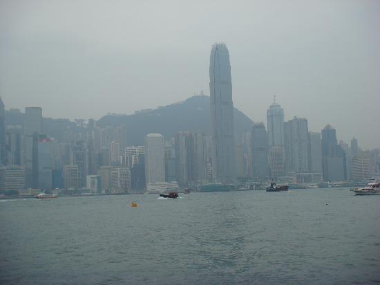 โรงแรมไฮแอทรีเจนซี่ ฮ่องกง จิมซาจุ่ย: 部屋からの眺め①