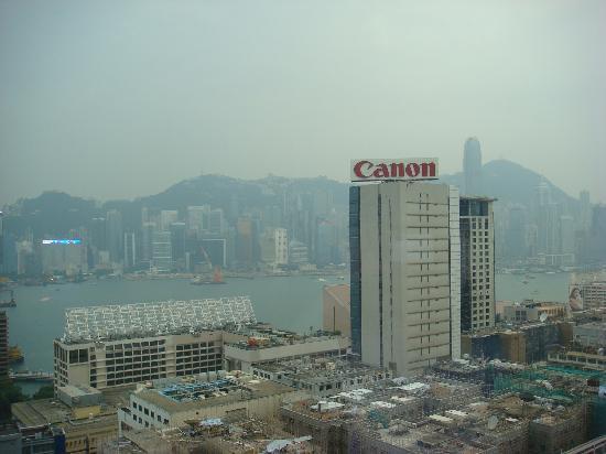 โรงแรมไฮแอทรีเจนซี่ ฮ่องกง จิมซาจุ่ย: 部屋からの眺め②