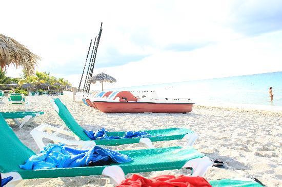 Melia Península Varadero: Playa muy poco concurrida