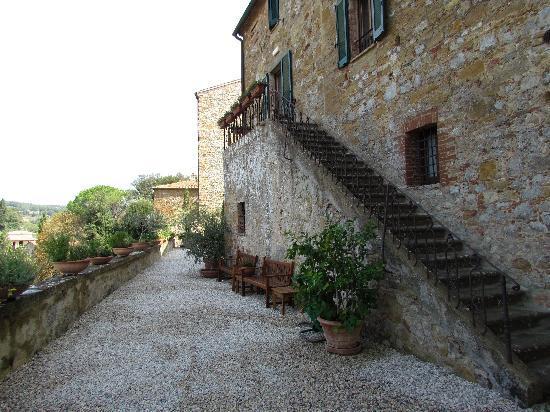 Petroio, إيطاليا: La location del pranzo