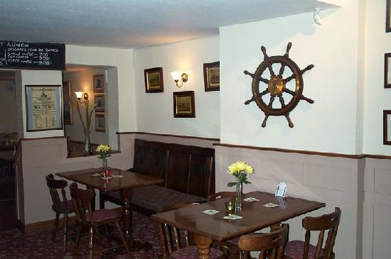 The Lord Nelson Inn: Bar area