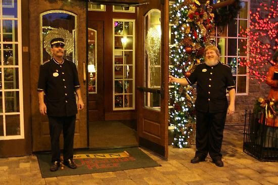 The Inn at Christmas Place: Your wonderful stay begins at the door.