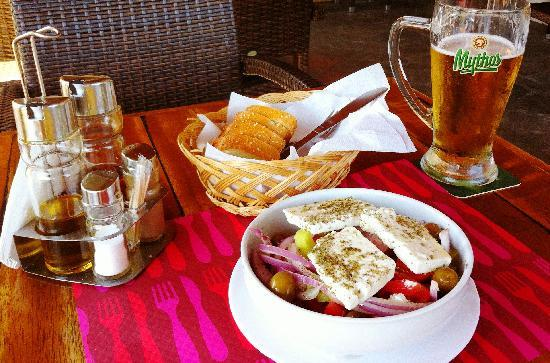 Platanias, Greece: Lunch!
