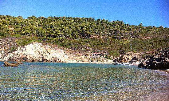 Ariadni House Hotel: Mandraki Beach