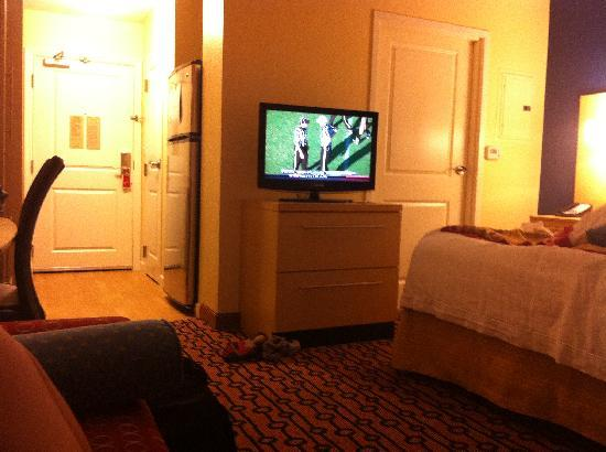 TownePlace Suites Providence North Kingstown: view from the couch in our room