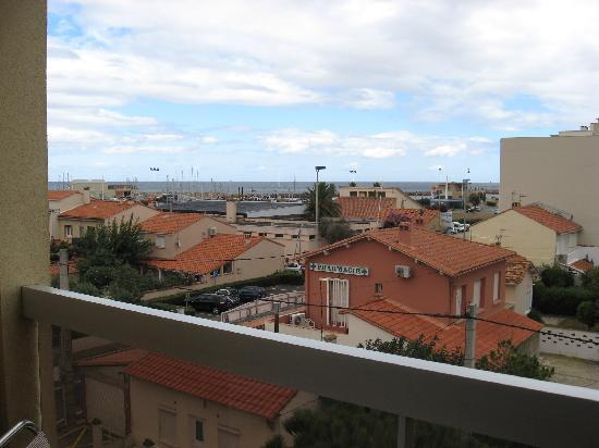 Hotel du Port: view from the balcony