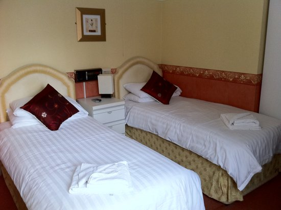 The Quorn Hotel: tiny beds