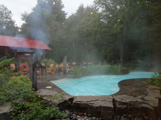 Blue Mountains, Kanada: Hot pools