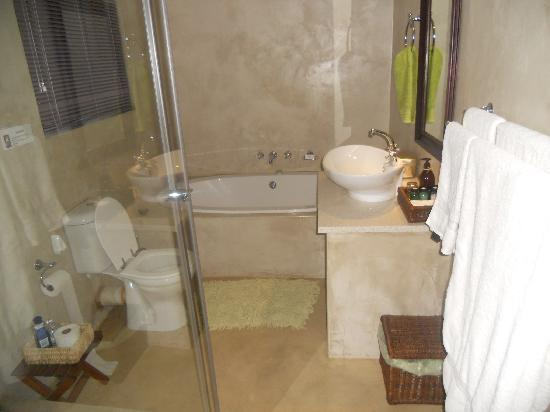 The Bushbaby Inn: The bathroom