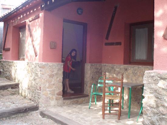 Finca Valvellidos casa rural: situación del bungalow