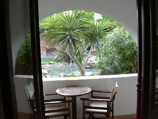 Naxos Resort Beach Hotel: La veranda della nostra camera