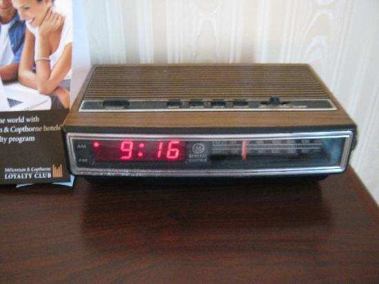 Millennium Durham: Old Clock Radio