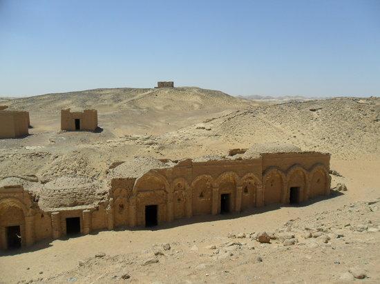 Necropolis of Al-Bagawat: Tombs at Al-Bagawat