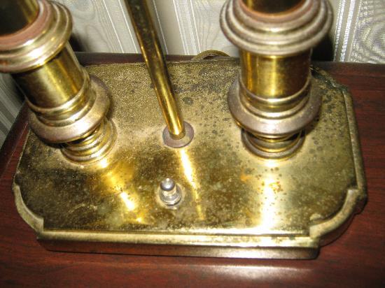 Millennium Durham: Rusted Desk Lamp