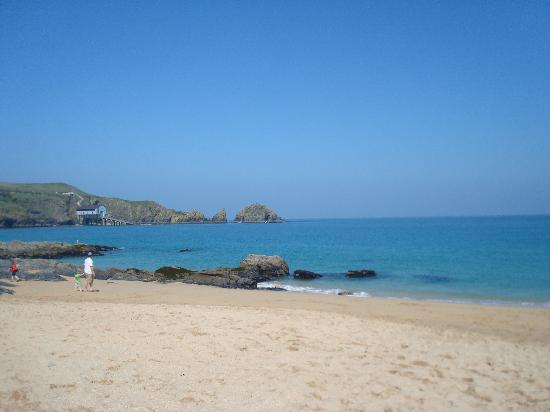 Mother Ivey's Bay Holiday Park : Beautiful Beach