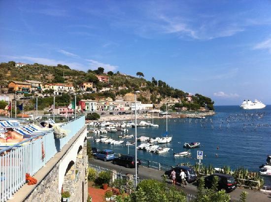 Vista dalla terrazza - panorama - Picture of Royal Sporting Hotel ...