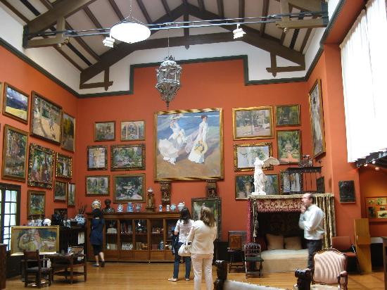 Museo Sorolla Madrid.Sorolla S Painting Room Picture Of Museo Sorolla Madrid Tripadvisor