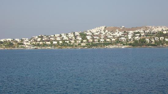 Xanadu Island: view from hotel