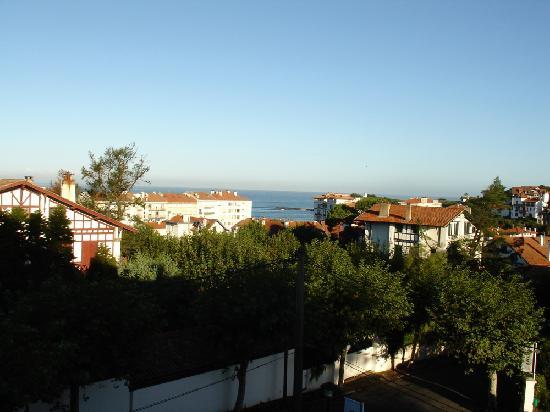 Hôtel les Goëlands : Vue sur mer du balcon