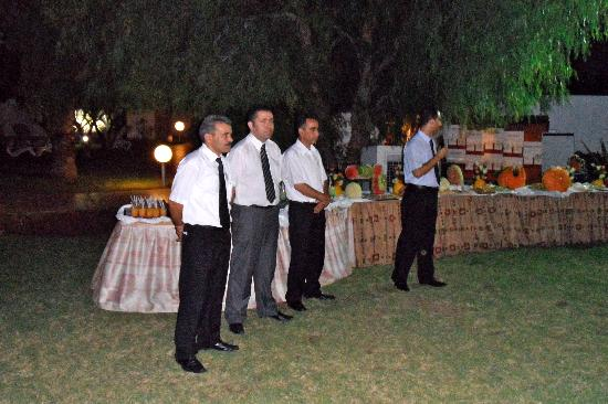 Yadis Hammamet: accueil de la direction de l'hotel