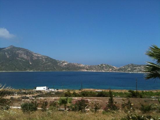 Agios Pavlos Studios: Vista dal terrazzo di Agios Pavlos