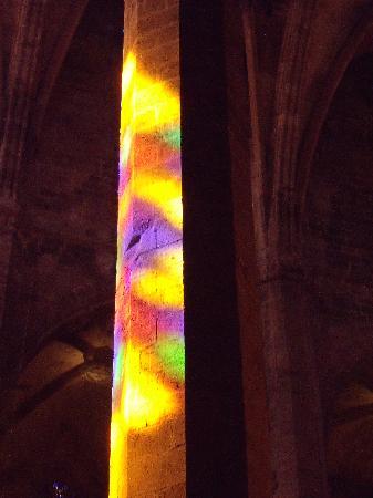Catedral de Mallorca: light on 11 am