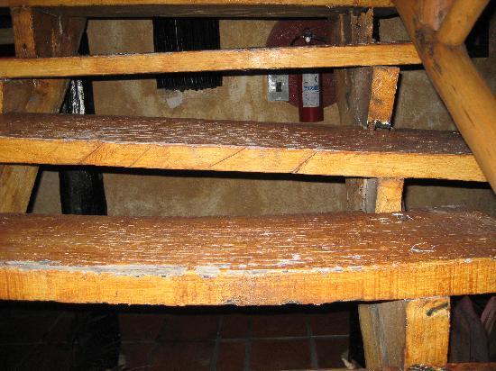 Allegro Playacar: las 2 escaleras rotas, o la grande trampa!!!