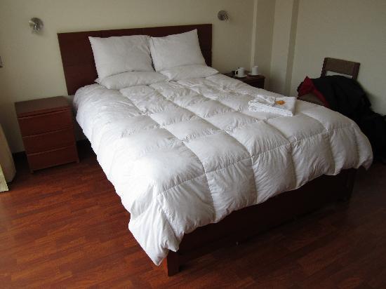 Hotel Golden Inca: Cama