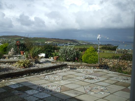 Malin Head, ไอร์แลนด์: View from our window in Room 4