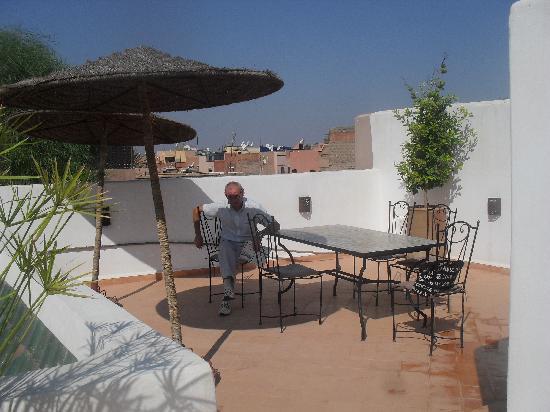 Riad les Orangers d'Alilia Marrakech: roof terrace