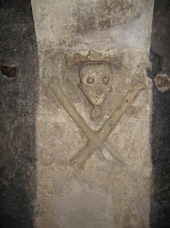 Chiesa di San Sepolcro : particolare della cripta