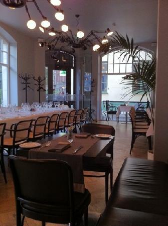 Neiburgs Restaurant: Inneneinrichtung des Neiburgs