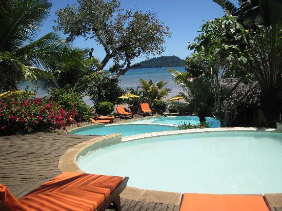 Vanila Hotel & Spa: une des deux piscine