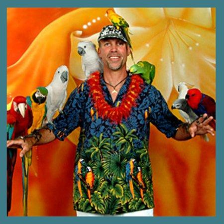 The Bird Guy: Me and my birds
