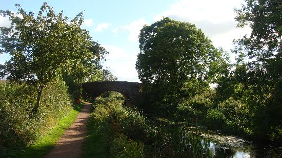 Muddifords Court Country House: The Canal Walk