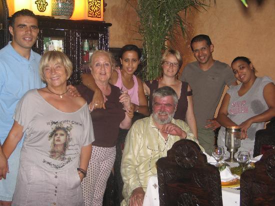 Riad Des Orangers: ambiance+amitié