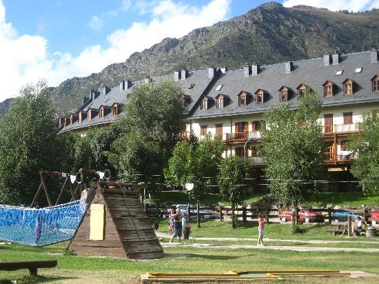 Apartamentos la Solana: parque