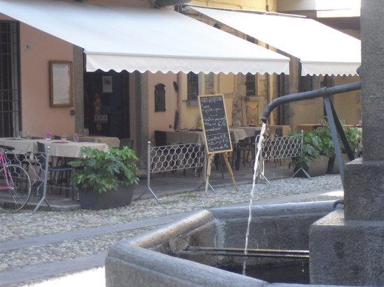 Trattoria La Motta: la nostra fontana