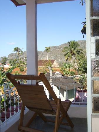 Casa Particular Ridel y Claribel: View from the patio