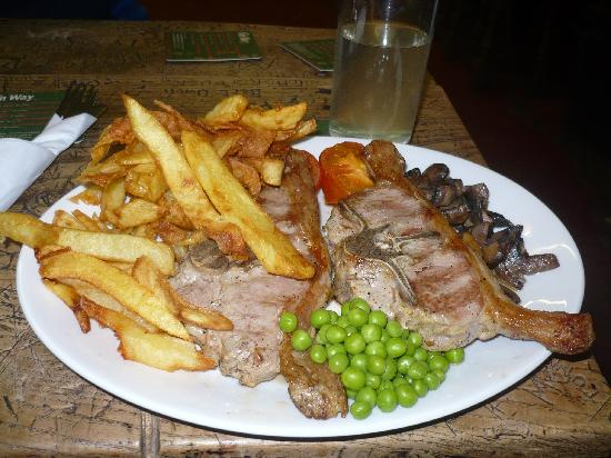 Robinson's Place Farm : Barnsley Chop at the Old Dungeon Ghyll