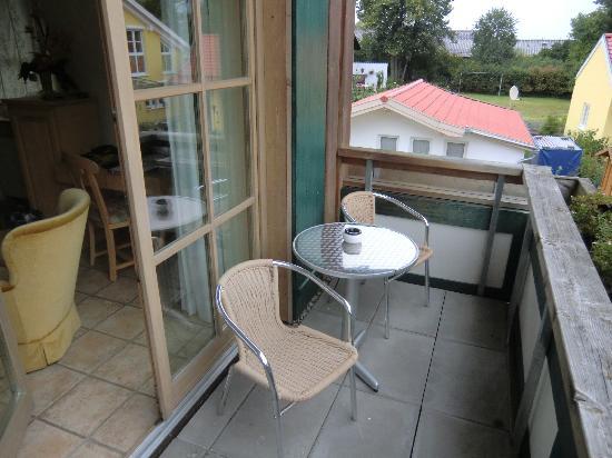 Landhotel Guglhupf: nice patio