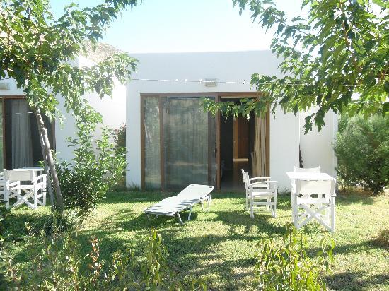 Matala Valley Village Hotel : good outdoor equipment