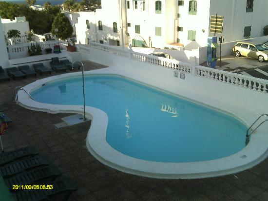 Hotel Lanza Teneguia: The pool