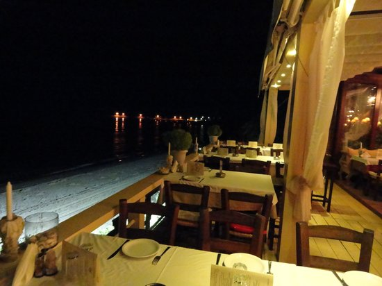 Makri, Greece:                   Romantic atmoshere at St George's Tavern