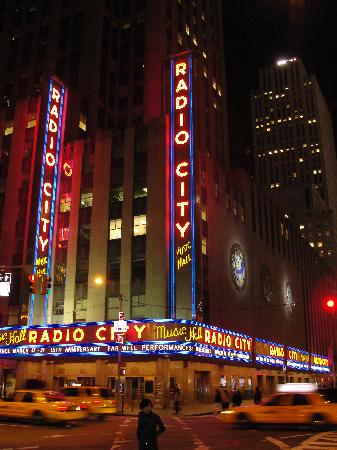 New York City, NY: Radio City Music Hall