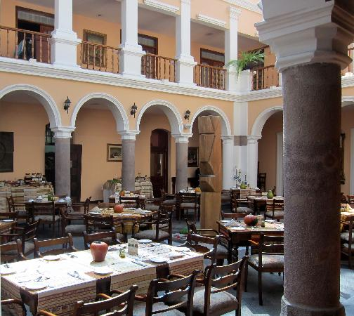 Courtyard dining room of Hotel Patio Andaluz - Courtyard Dining Room Of Hotel Patio Andaluz - Picture Of Hotel