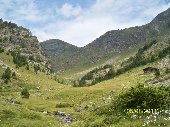 Ordino Parish, Andorra: View up the valley