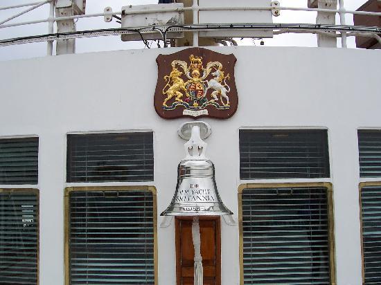 เรือพระที่นั่งบริทานเนีย: The Ship's Bell